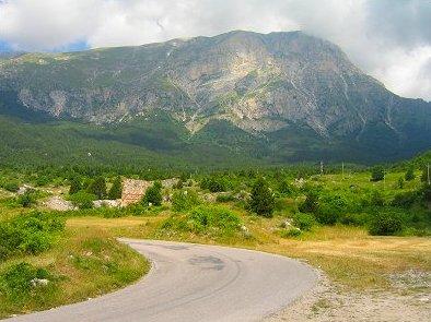 Parco Naturale Monti Sibillini_massiccio