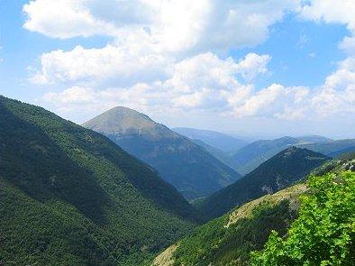 Panorama Parco Naturale Monti Sibillini