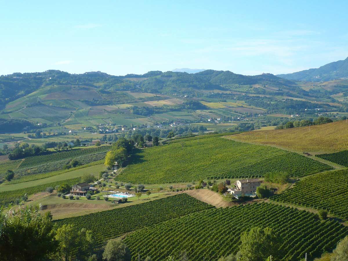 Agriturismo nella regione Marche